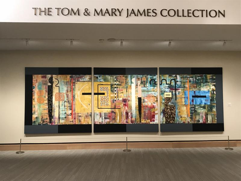 The museum features more than 400 works, all from Tom and Mary James' private collection, which includes over 3,000 pieces.