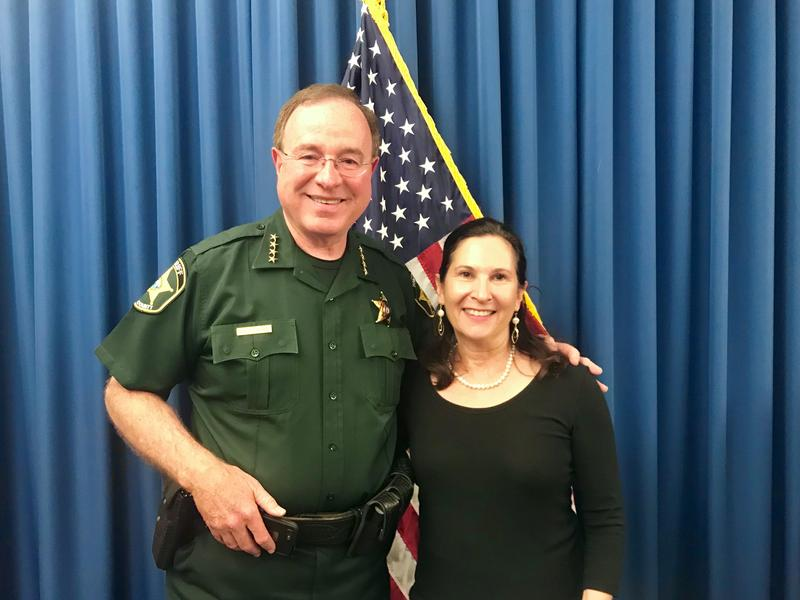 Polk County Sheriff Grady Judd spoke with Florida Matters host Robin Sussingham at his office in Winter Haven.