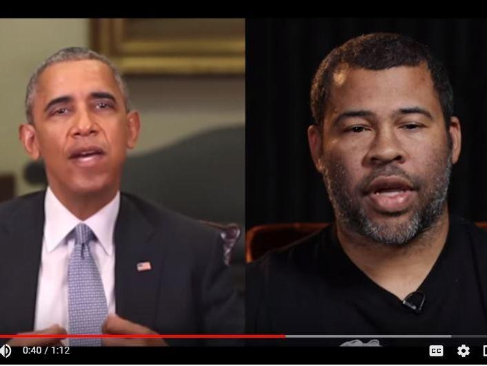 "Filmmaker Jordan Peele and Buzzfeed created a ""deep fake"" video of former President Obama to point out the risk of fake videos."