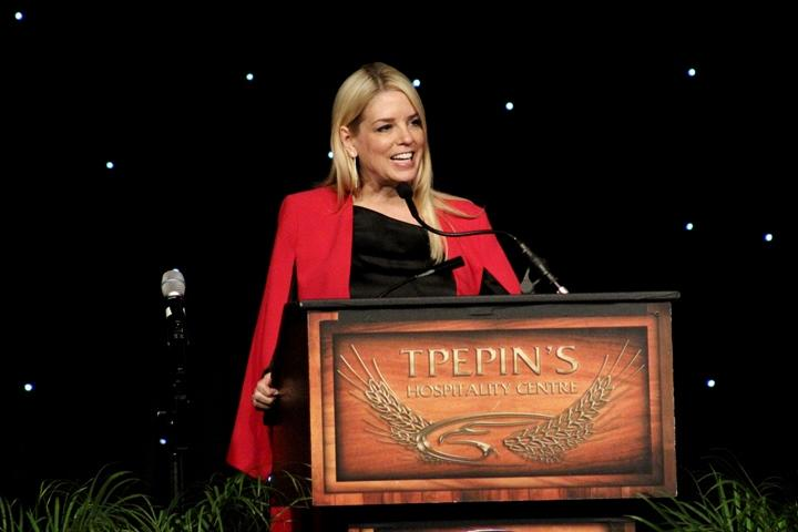 Florida Attorney General Pam Bondi hosted the Hillsborough County Republican Party's annual Lincoln Dinner fundraiser at TPepin's Hospitality Centre Saturday night.