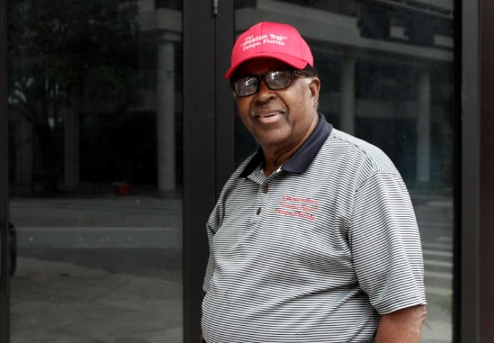 Clarence Fort, 79, was the head of the local NAACP Youth Council and led the Woolworth sit-in.