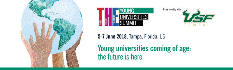The Times Higher Education Young Universities Summit takes place through Thursday on in downtown Tampa and on USF's Tampa campus.