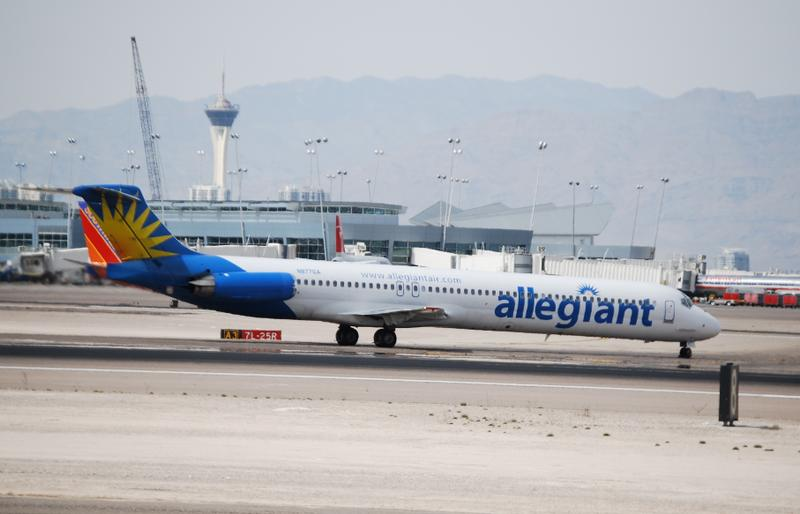 Allegiant Air canceled more than a dozen flights into and out of St. Pete-Clearwater International Airport.