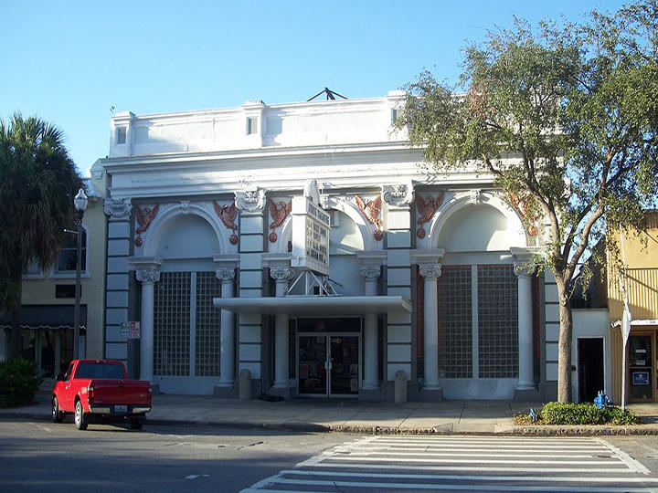 The State Theatre in St. Petersburg was built in 1924 and has for decades served as a music venue.
