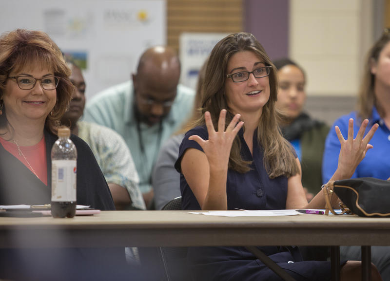 """Monica Rousseau is the Pasco ASAP coordinator, and says """"by better understanding priority issues perceived by youth, we can create more relevant community strategies to improve health, well-being, and our sense of community."""""""