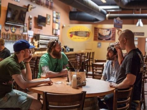 If you're not familiar with craft beer but are thinking about giving it a try, consider visiting a local tasting room. You can ask brewers for advice about which beers to sample.