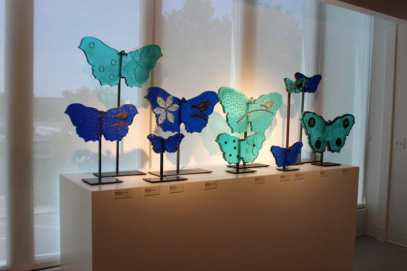 The museum was founded by philanthropist and local glass artist Trish Duggan.