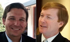 Republican Gubernatorial Candidates U.S. Congressman Ron DeSantis and Agriculture Commissioner Adam Putnam