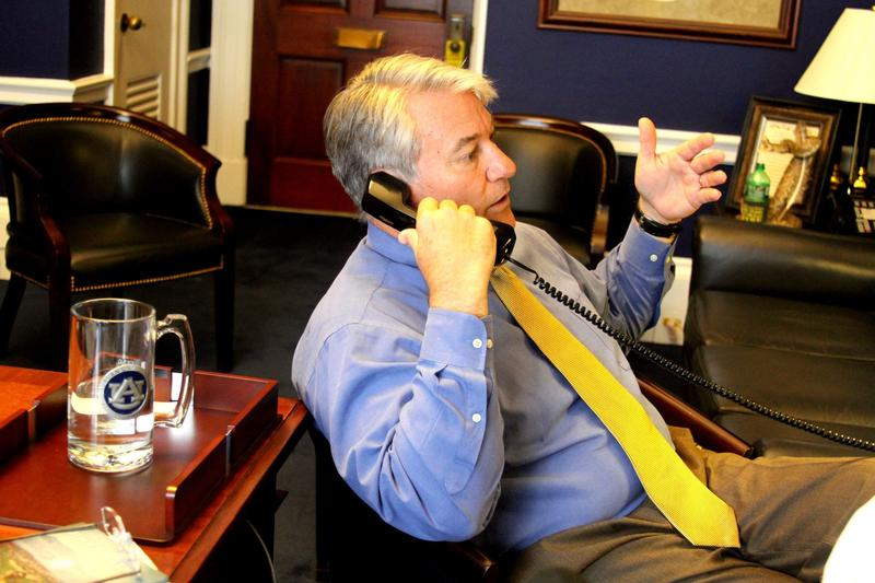 U.S. Rep. Dennis Ross, seen here in his Washington D.C. congressional office, unexpectedly announced his decision to retire back in April.