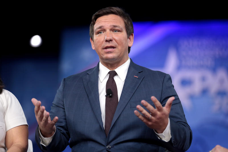 Ron DeSantis recieved an official endorsement from President Donald Trump during a campaign rally at the Florida State Fairgrounds in Tampa Tuesday night.