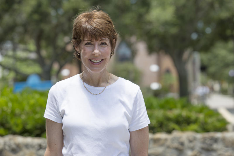 Former Democratic U.S. Rep. Gwen Graham is trying to fend off four challengers as she seeks to become Florida's first female governor and to take the seat her father, Bob Graham, held from 1979 to 1987.