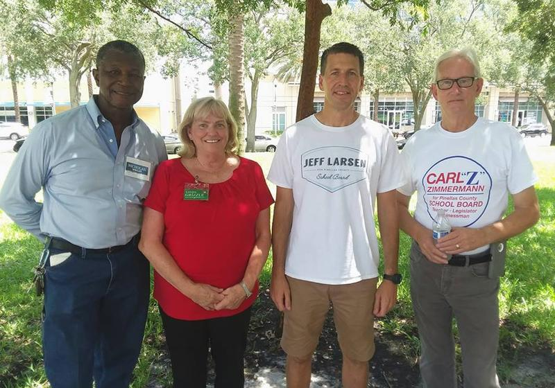 There are two countywide school board seats and two district seats on the Aug. 28th primary ballot. Nicholas Wright, Lorena Grizzle, Jeff Larsen and Carl Zimmerman are among the candidates.