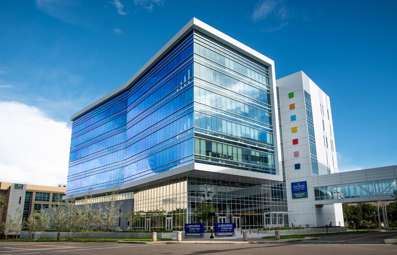 The new Research and Education Building opens with a goal of helping doctors better understand diseases affecting children.