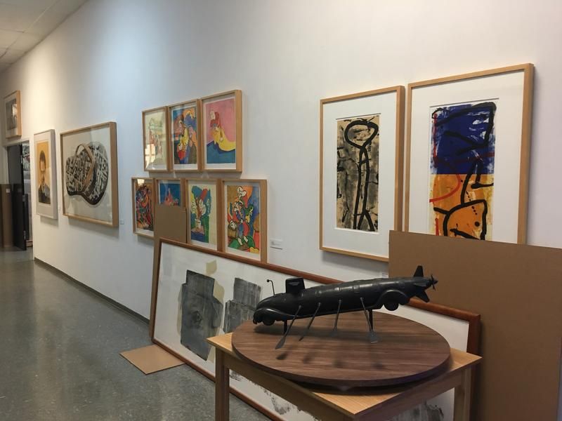 Graphicstudio features many different forms of art in their studio at USF.