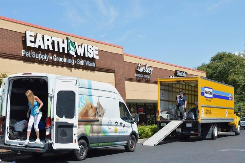 EarthWise Pet Supply and Beds For All Paws teamed up to collect pet supplies for animals displaced by Hurricane Florence. Donations are still being collected at the pet store in Palm Harbor.