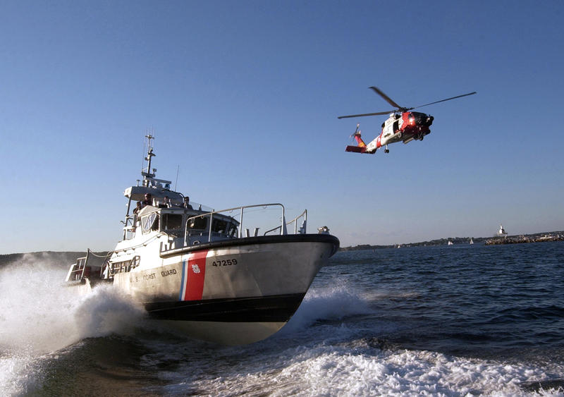 The U.S. Coast Guard assisted in rescues of boaters in the Gulf of Mexico. The rescue boats pictured were not involved, but are examples of vessels used.
