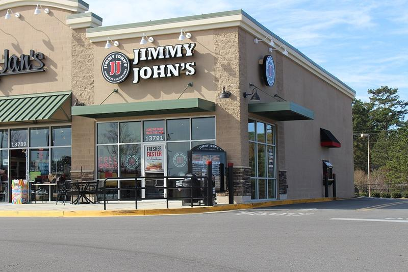 A Tampa woman mistakenly called a Jimmy John's restaurant like this one in Thomasville, Ga., seeking help for her ailing brother. An employee transported him to the hospital.