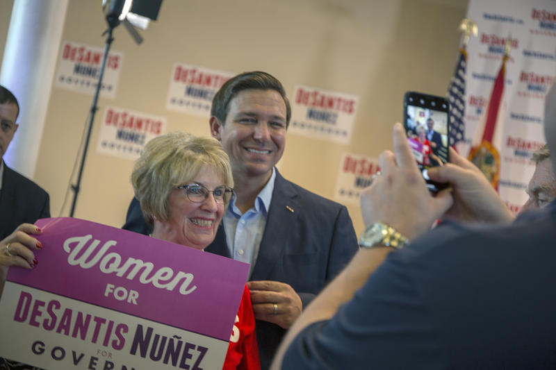 Ron DeSantis, who was born in Dunedin and visited the area during his campaign, becomes Florida's governor on Tuesday.
