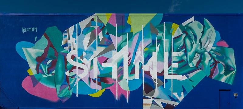 The fourth annual SHINE Mural Festival is in St. Petersburg through Sunday.