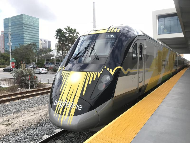In Jan. 2018, Brightline launched service between Fort Lauderdale and West Palm Beach. They've since extended the line to Miami.