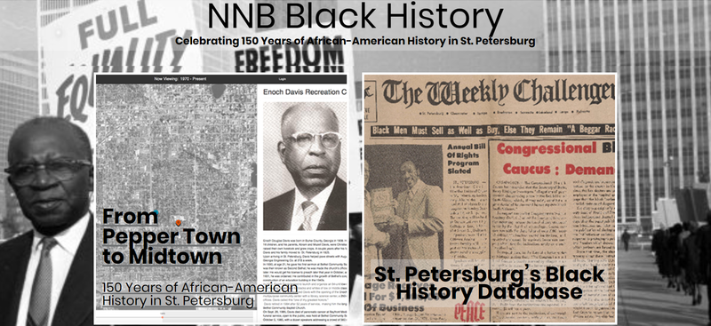 Journalism students from the Neighborhood News Bureau have launched the first multimedia website housing historical information of South St. Petersburg.