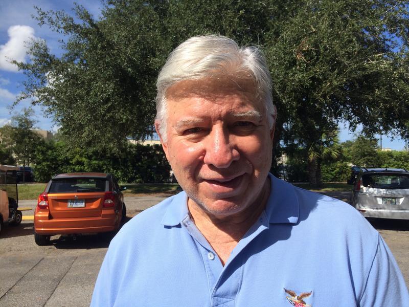 Sun City Center voter Bob Rast
