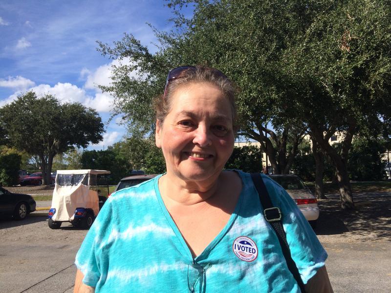 Sun City Center voter Lenore Kennedy