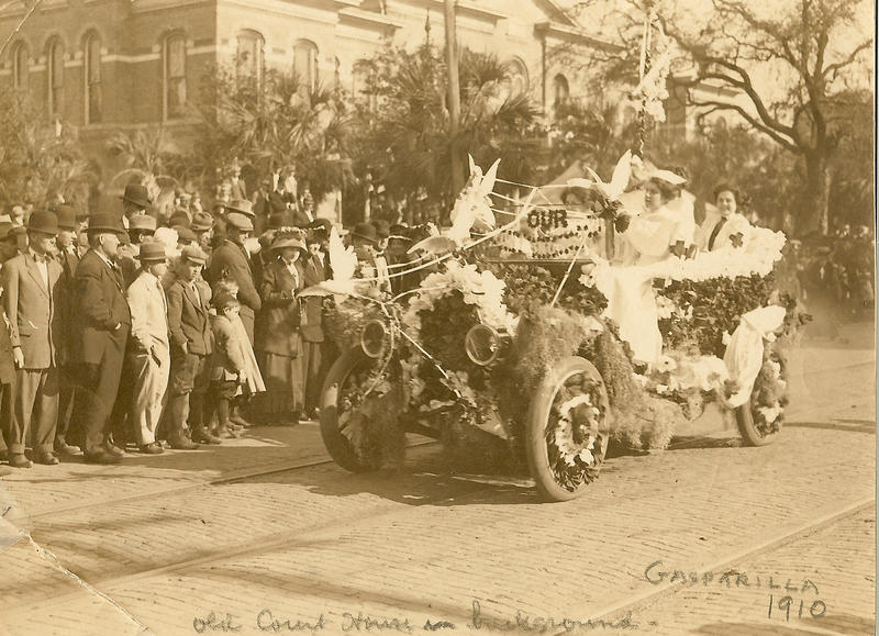 The Gasparilla parade in 1910 was the last year the invasion was done on horseback. The following year was the first invasion by boat.