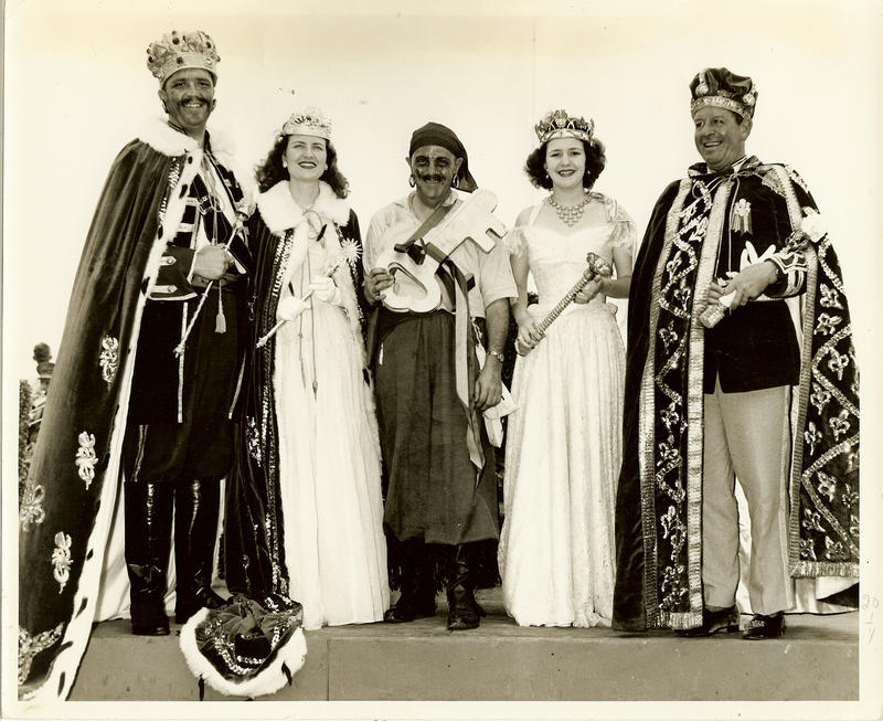 Former kings and queens of Gasparilla.
