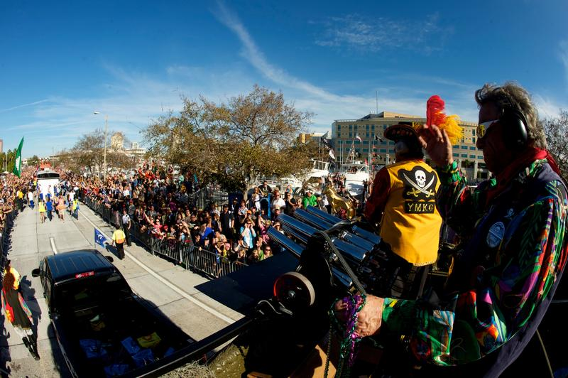 Ye Mystic Krewe of Gasparilla was the first group to participate in the parade, but now there are dozens of other krewes joining in on the festivities.