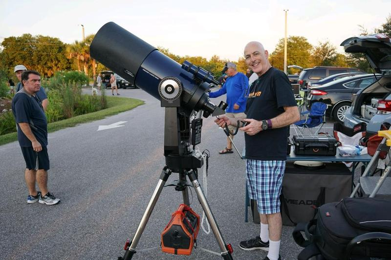 Jonathan Sabin, president of the Local Group of Deep Sky Observers