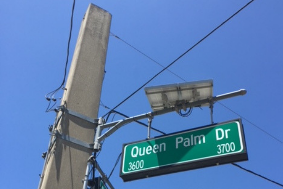 Solar traffic signal systems are installed in Hillsborough County