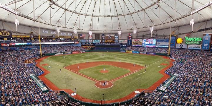 St. Petersburg's Tropicana Field has been receiving public money since 1994