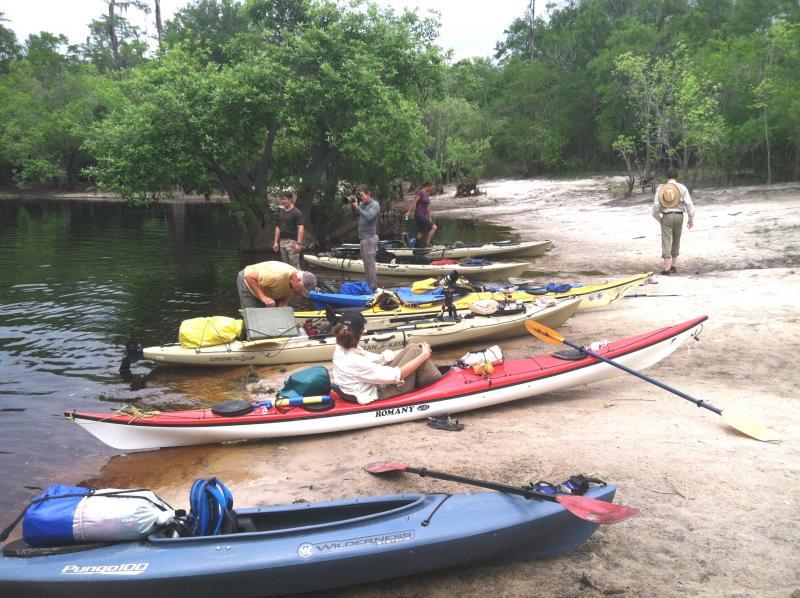 Kayaking on the Suwanee River