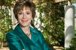 """USF President Judy Genshaft says, """"We will not be able to hire every single person."""""""