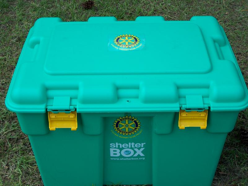 A ShelterBox