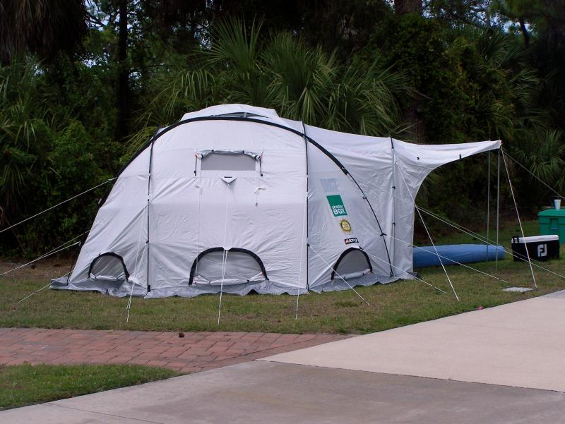 ShelterBox Tent