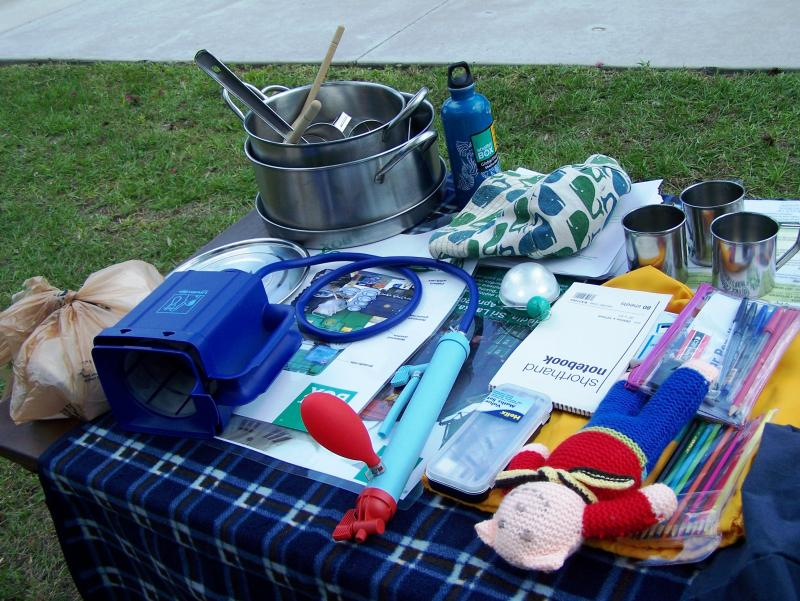 Some of the contents of a ShelterBox