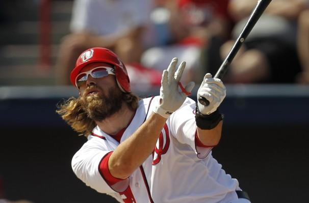 "Paul Sancya/AP - ""I think the skipper wanted to win today. We had a little extra giddy-up,"" said Jayson Werth."