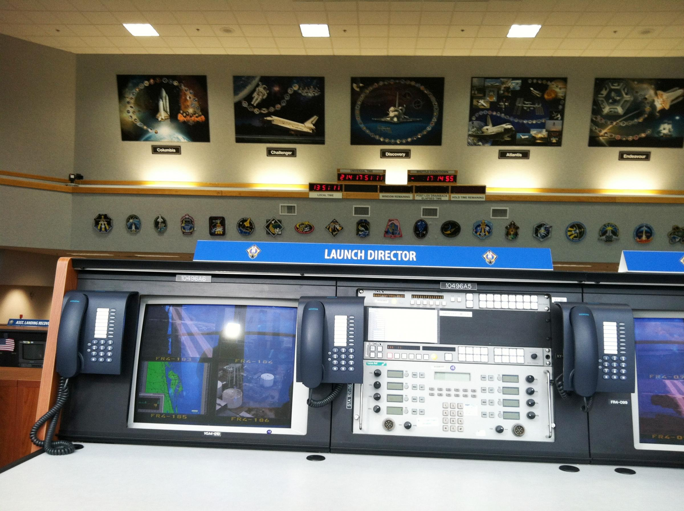 Kennedy Space Center Launches Tours Of Control Room