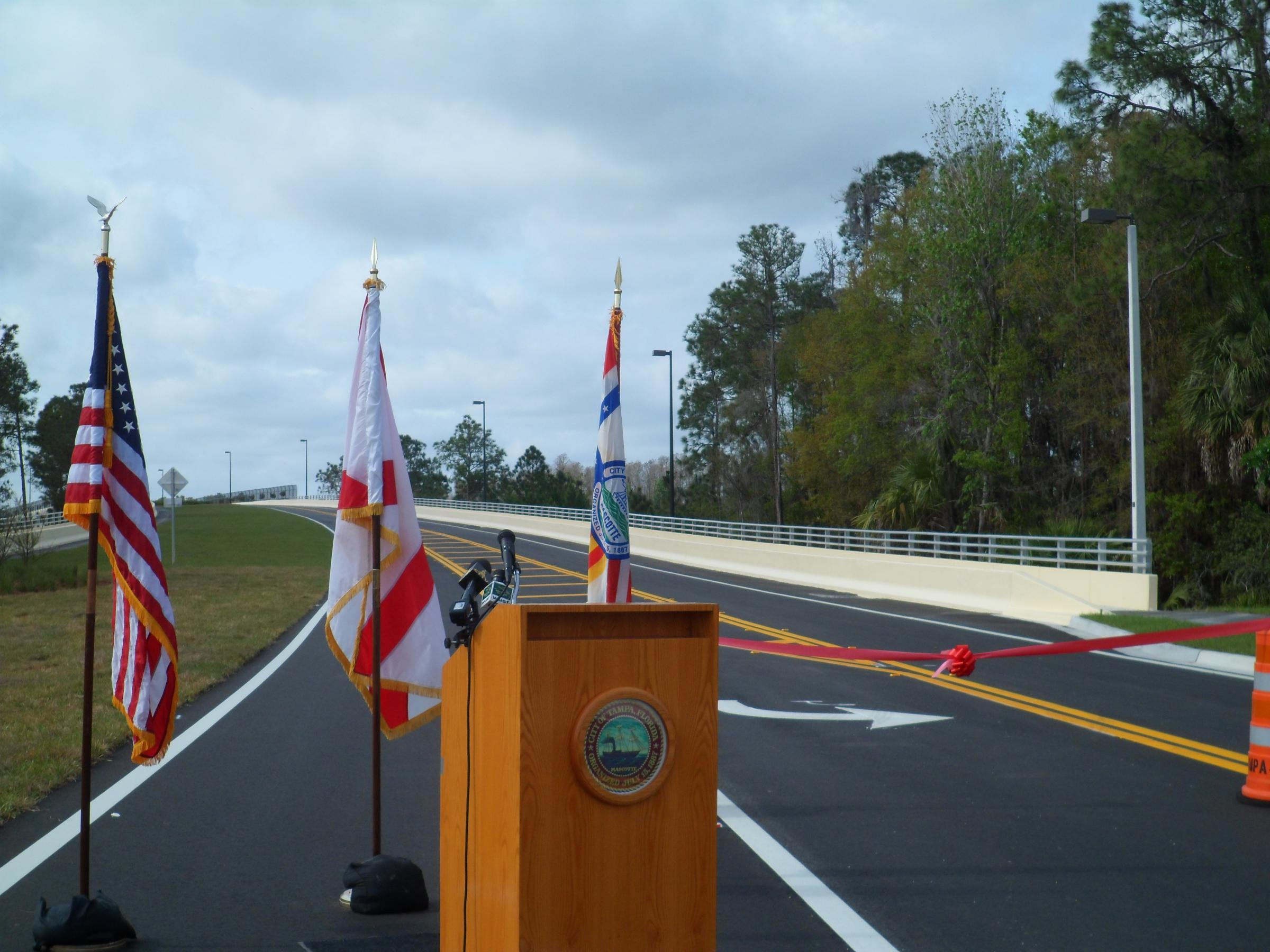 new tampa opens up new bridge wusf news