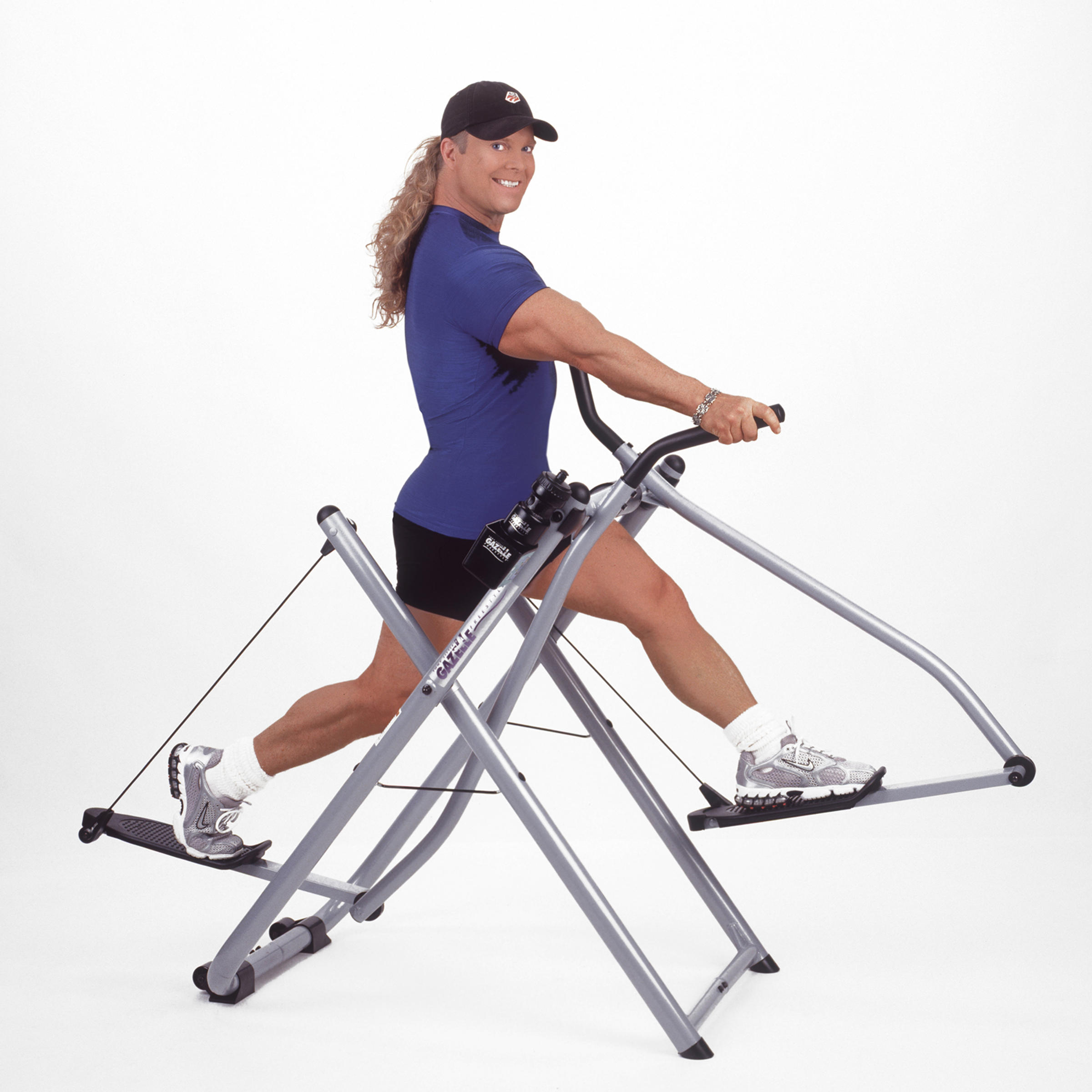 Image result for Three different types of Tony Little Gazelle Exerciser Machines
