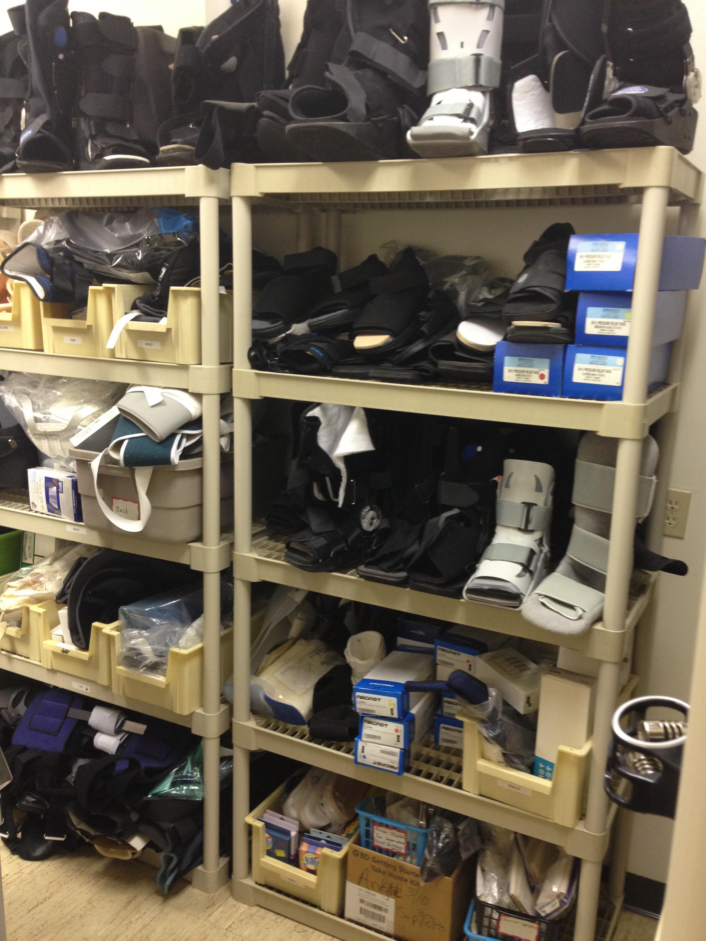 High Quality The Supply Closet At The Brandon Outreach Clinic.