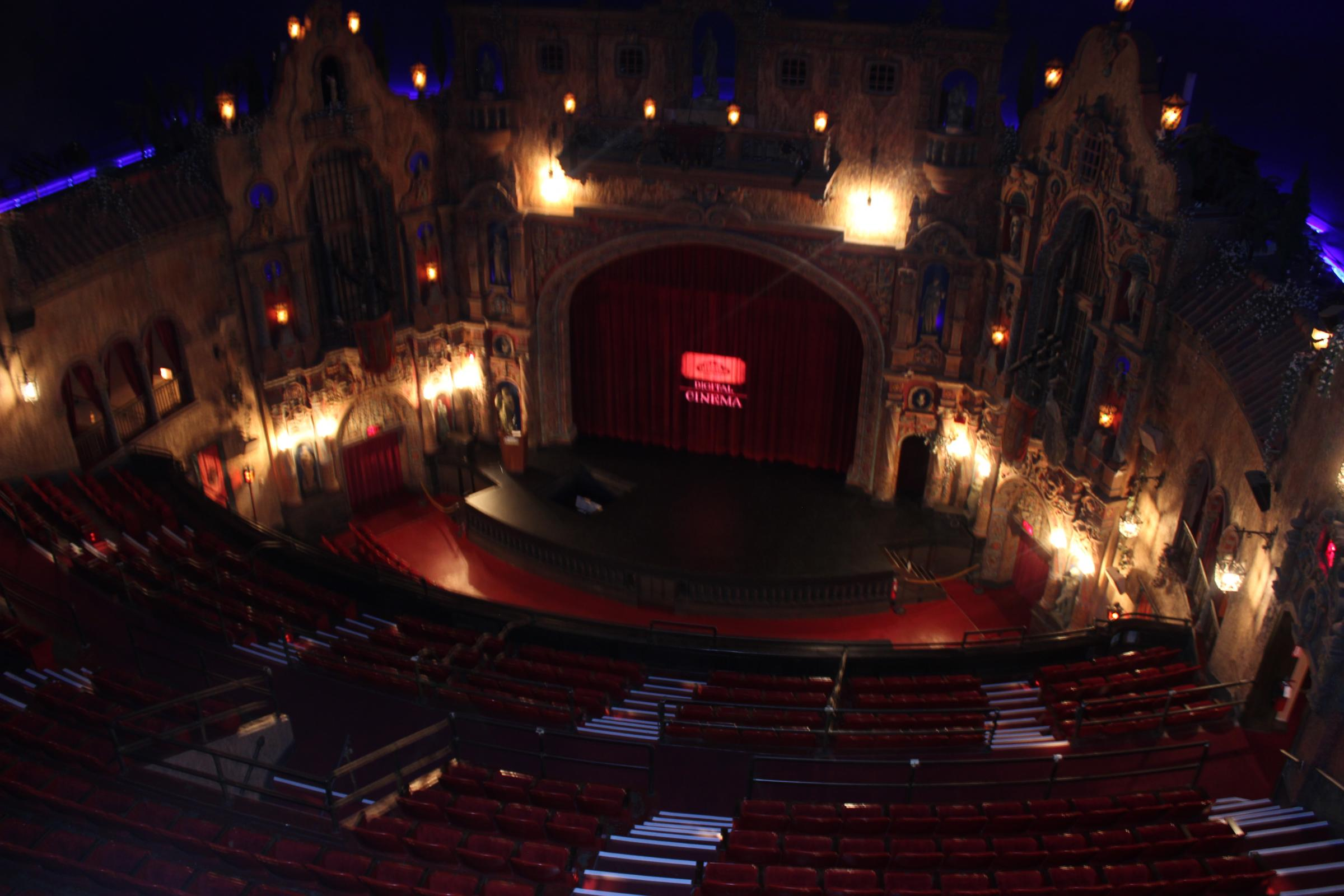 After 87 Years Tampa Theatre Goes Digital Wusf News