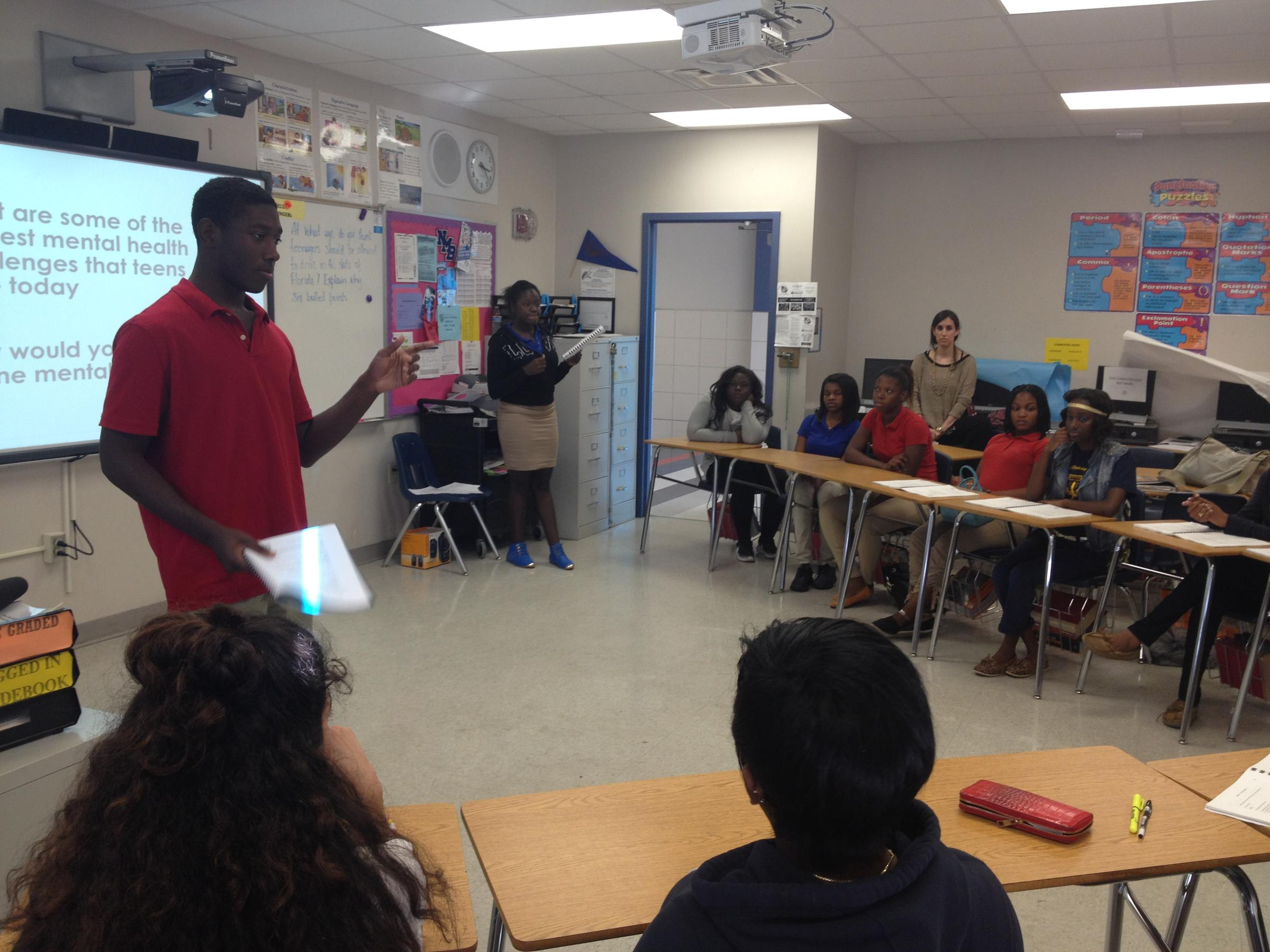 Why Miami Dade High School Students Are Teaching Their Classmates