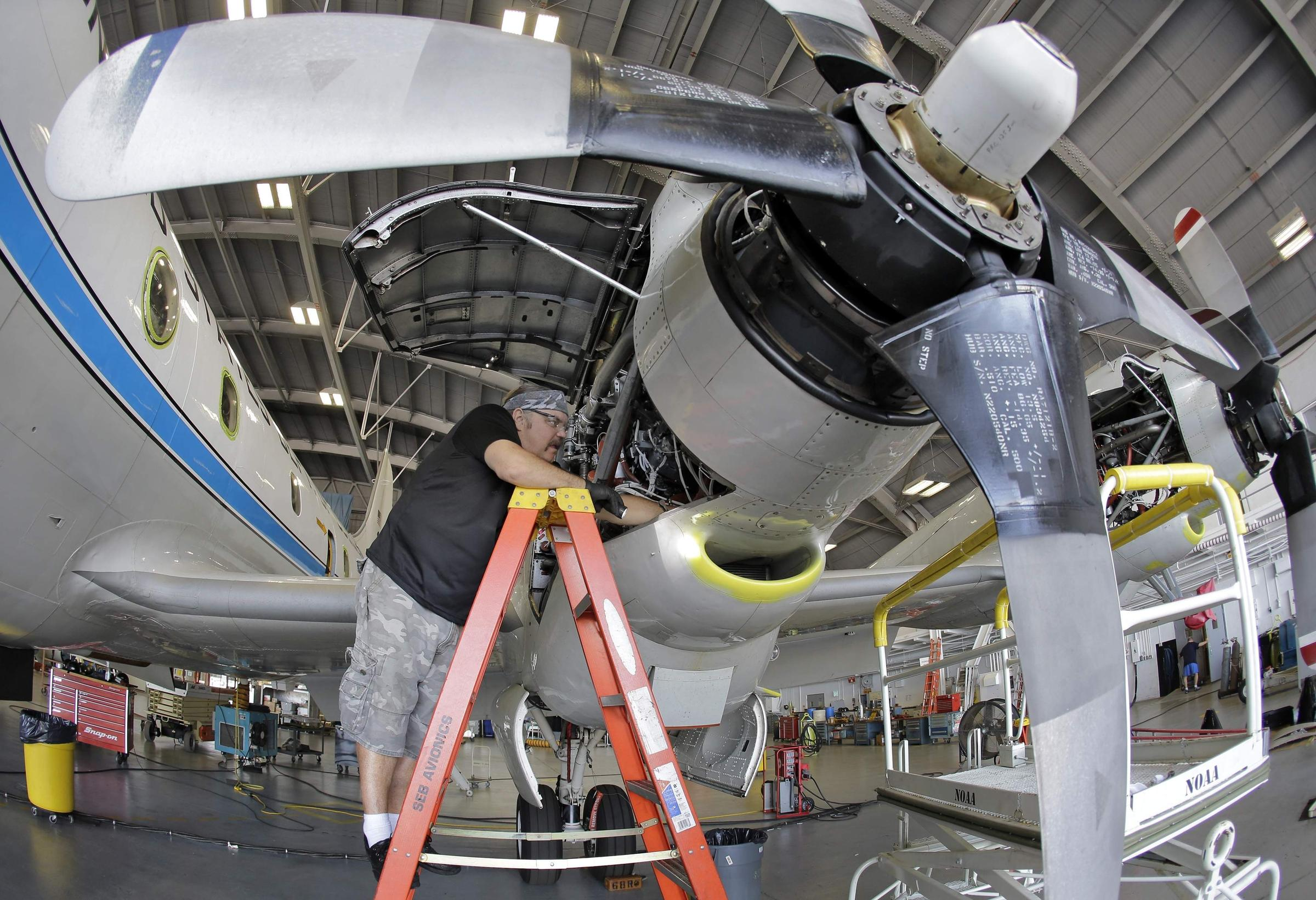 Hurricane Hunter Planes Get $42 Million Upgrade
