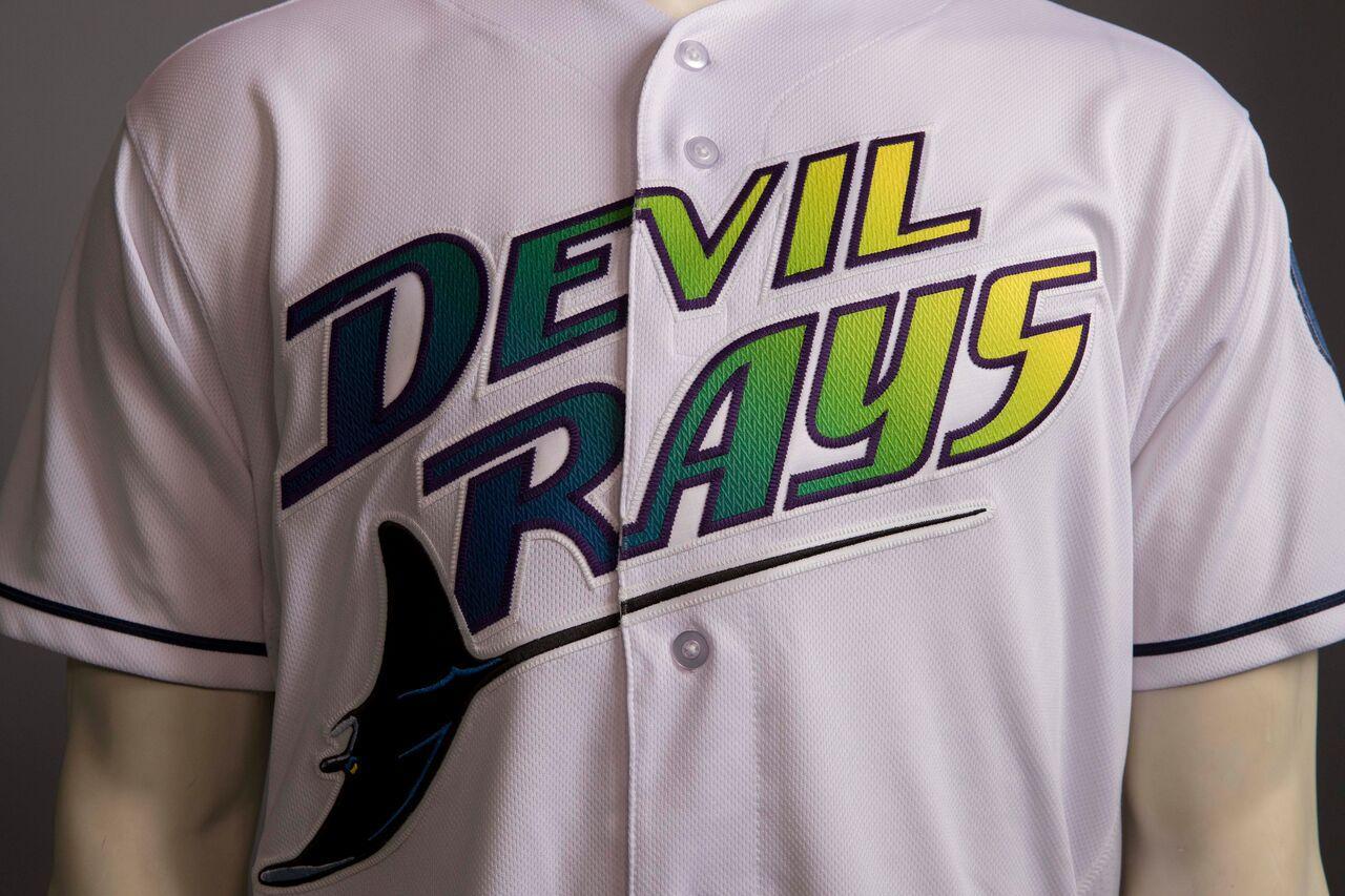 best website 30904 91c29 aliexpress tampa bay devil rays vintage jersey 40a79 528a9