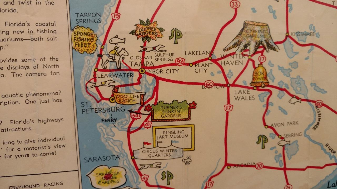 Avon Park Florida Map.New Exhibit Maps Out Florida S History Wusf News