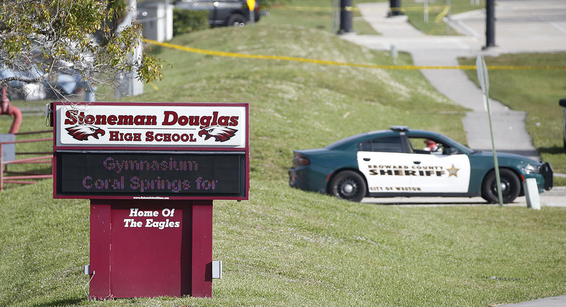 Animation shows Cruz's path inside Parkland shooting