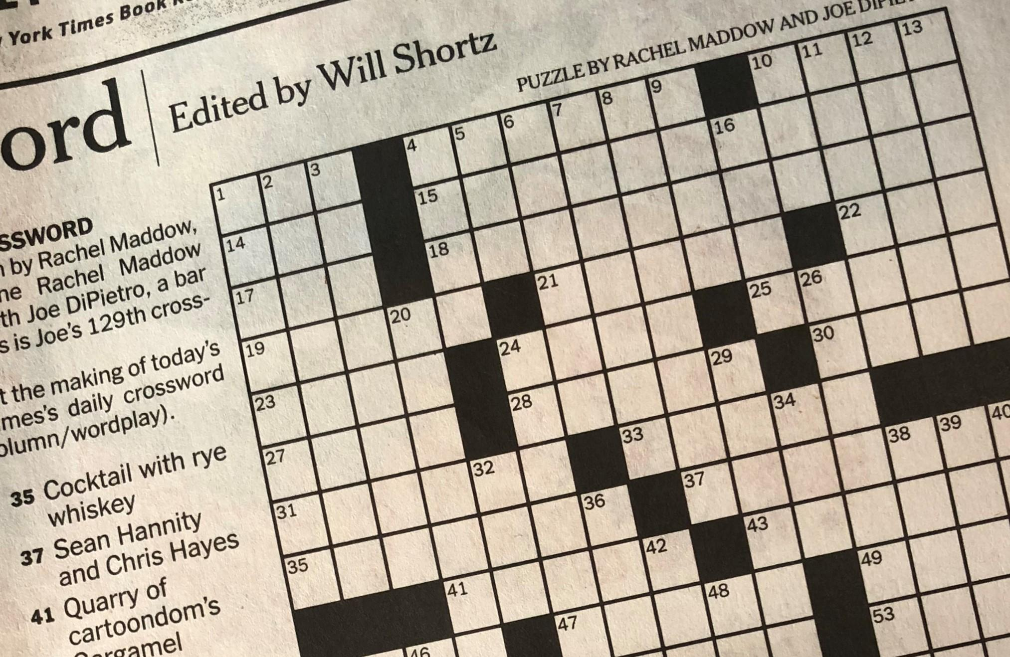 Crossword App Filling What Newspaper Puzzle Fans Need